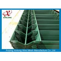 Wholesale Durable Pvc Coated Welded Wire Mesh Fence For Public Grounds 50*200mm from china suppliers