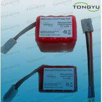 Wholesale 12V 9.2Ah / 10Ah Lithium LiFePO4 Starter Battery for Motorcycle , 16 Cell from china suppliers