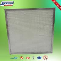 Wholesale Galvanized Framed Standard Pleated Final Hepa Air Filters For Class 100000 Room from china suppliers