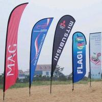 Wholesale Durable Double Sided Beach Flag Flying Feather Flag Banner from china suppliers