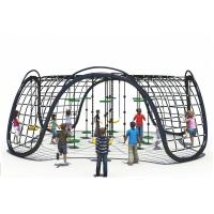 Buy cheap KAIQI 2018 Children Climbing Nets Outdoor Children Amusement Park Playground Equipment from wholesalers