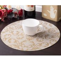 Wholesale Top grade jacquard weave Textilene coaster for coffee room from china suppliers