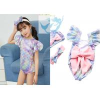 Wholesale Baby Girl One Piece Swimsuit Bathing Suit Lovely Summer Beach Beachwear from china suppliers