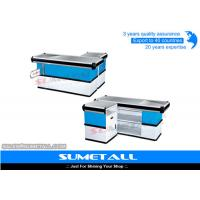 Wholesale Steel Retail Checkout Counter Cashier Table For Supermarket / Convenience Store from china suppliers
