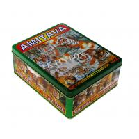 Wholesale Amitava Russia Green Loose Tea Tin Box Packaging , Tea Tin Can For Gift from china suppliers