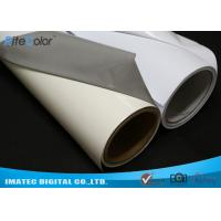 Wholesale Aqueous Inkjet Media Supplies Grey Base Waterproof Self - Adhesive Matte PVC Vinyl roll from china suppliers