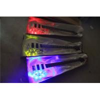 Wholesale Custom 4 string crystal electric bass transparent acrylic Body  Three Colors of LED Light  Available from china suppliers