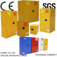 Wholesale Vertical Drum Hazardous Flammable Storage Cabinet Fully Welded , 60 Gallon from china suppliers