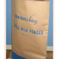 Wholesale Offset, Screen, UV printing brown kraft paper bag with nylon rope, twisted paper handles from china suppliers