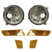 Wholesale 2007 Ford Focus high-impact 12V, 55W, H11 quartz halogen lens fog light kit from china suppliers