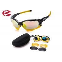 Wholesale 3 Interchangeable Lens Set TR90 Frame Sports Cycling Sunglasses Unbreakable from china suppliers