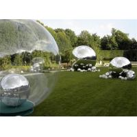 Wholesale Outdoor Decoration Inflatable Advertising Balloons Silver Inflatable Mirror Ball from china suppliers