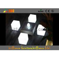 Wholesale LED round bar stool , bar chair Glowing Furniture built-in RGB LED light with 16 colors from china suppliers