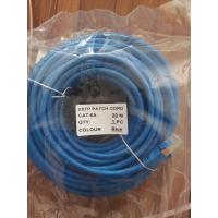 Wholesale 20M RJ45 Cat6A SSTP Patch Cord 6 Colors 20Meters Cat6A Patch Cable Shielded Patch Lead from china suppliers