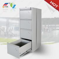Vertical filing cabinet steel material 4 drawer,A4/F4 Files available,white/light grey/black color/ KD structure