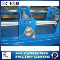 Quality 11kw Main Power Rolling Shutter Forming Machine Hydraulic Drive Cutting Type for sale