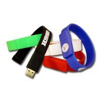 Wholesale Silicone Men Wristband USB Flash Drive 128GB Flash Drive USB 3.0 from china suppliers