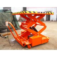 SJY0.3-3  aerial work platform for electric scooter scissor work platform 300 kg  9.8 feet high