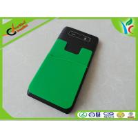 Buy cheap Flexible Custom Cell Phone Silicone Cases Green / Orange Fashionable from wholesalers
