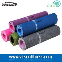 Wholesale Ningbo Virson hot sales TPE yoga mat.ECO friendly gym mat from china suppliers