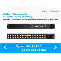 Wholesale Multi Channels DVB-S2 Input Digital Satellite Receiver with 512 SPTS UDP Output from china suppliers