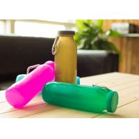 Wholesale Promotional Folding Silicone Water Bottle Sports With Wrap 22oz. , Wear-Resistant from china suppliers