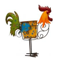 Wholesale chicken iron flower pot stand from china suppliers