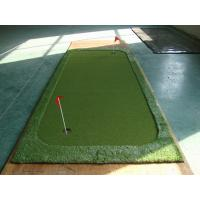 Wholesale Synthetic Golf Artificial Grass With Mini Two Holes For Golf Pitch from china suppliers
