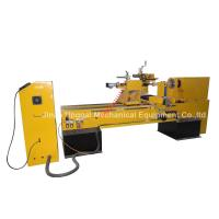Wholesale CNC Wood Turning Broaching Engraving Machine with Single Axis Double Blades from china suppliers