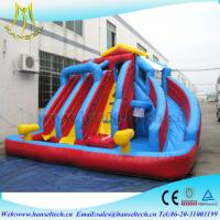 Wholesale Hansel hot selling children entertainment soft play area with inflatable water slide from china suppliers