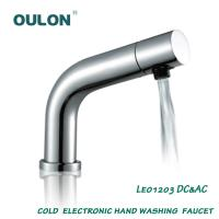 Quality OULON cold electronic hand washing faucet Leo1203DC&AC for sale