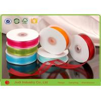 Wholesale Colorful DIY / Single Face Satin Ribbon For Wedding Decoration / Balloon from china suppliers
