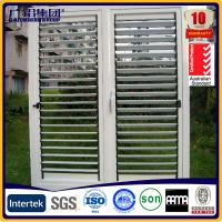 Wholesale adjustable aluminum shutter window from china suppliers