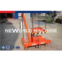 Wholesale 18m Mast Climbing Powered Access Platforms Aerial Lift Equipment from china suppliers
