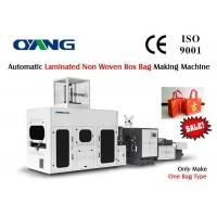 Wholesale High Efficiency Productivity Non Woven Box Bag Machine , ISO9001:2008 from china suppliers