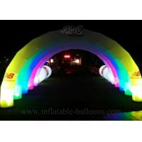 Wholesale 10m Custom Inflatable LED Arch Logo Printing Inflatable Airblown Archway from china suppliers