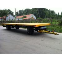 Wholesale 2 axle low flatbed trailer from china suppliers