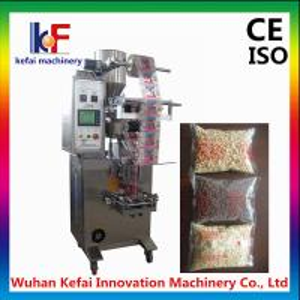 China semi automatic weighting granule packing machine on sale