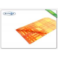 Buy cheap Fancy 38-75 Gsm Weight Colorful Printing Square  Tnt Table Cover Exported to Italy from wholesalers
