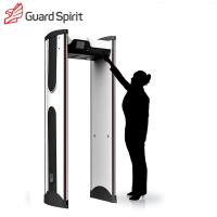 Wholesale LCD colorful screen Archway Metal Detector metal detector security gate with battery supply from china suppliers