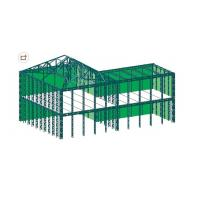 Wholesale Pre Engineering Industrial Steel Buildings Fabrication Used As Workshop Warehouse from china suppliers