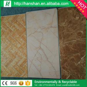 Quality Indoor pvc vinyl flooring click silica floor for sale
