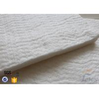 Wholesale High Silica Fiberglass Needle Mat For Thermal Insulation Jacket 125KG / M3 20MM from china suppliers