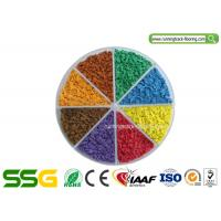 Wholesale Customized Colored EPDM Granule for Running Track Rubber Court Installation from china suppliers