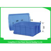 Wholesale Durable Plastic Stacking Boxes  , Plastic Stacking Storage Bins Environmental Protection from china suppliers