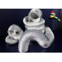 Wholesale Vent 50mm Flexible Aluminium Ducting Insulation High Flexible Silvery from china suppliers