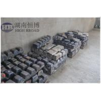 Wholesale MgNd alloy ingot magnesium neodymium master alloy ingot used in magnesium castings,extrusions from china suppliers