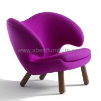 Wholesale designer furniture Finn Juhl Pelikan Chair/Pelican chair from china suppliers