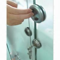 Wholesale Stainless Steel Cupped Handle for moving gate, 8 to 12mm thickness glass, made of SUS304/316 from china suppliers