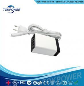 Wholesale 40 Watt Digital Power Adapter 5V 8A Wall Wart Power Supply 2 Pin Black DC cord from china suppliers